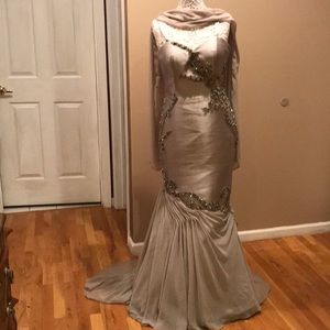 Terani Couture beaded gown